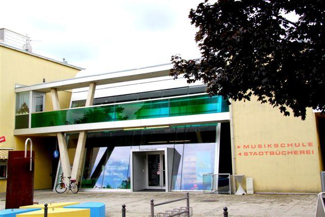 Außenansicht Musikschule Gänserndorf